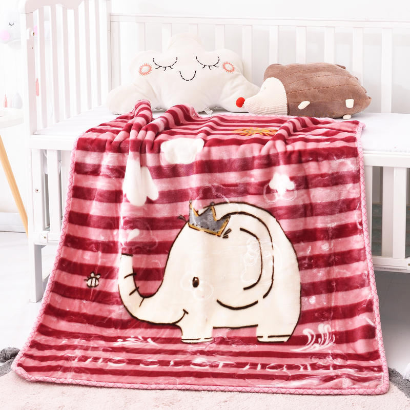 100*125cm Baby Blanket Newborn Thick Flannel Swaddle Wrap Breathable Warm Coral Fleece Blanket Cute Cartoon Soft Children Quilt free shipping infant children cartoon thick coral cashmere blankets baby nap blanket baby quilt size is 110 135 cm t01