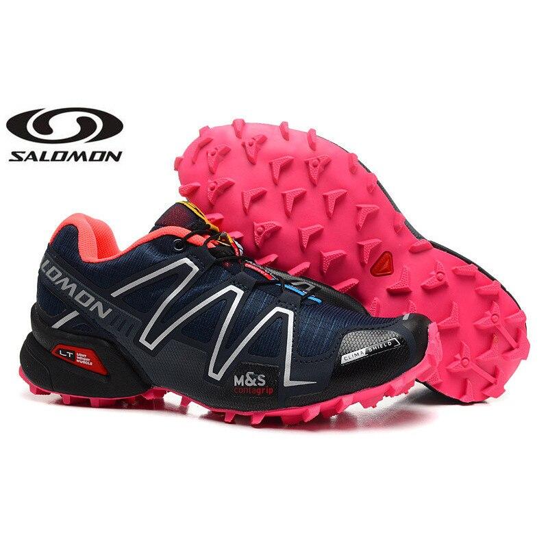Nowości Salomon Speed Cross III obuwie damskie wysokiej jakości oddychające sneakersy damskie buty sportowe buty do biegania Link 2