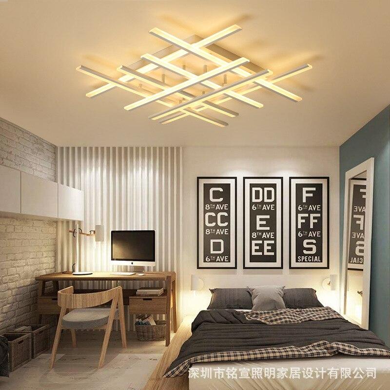 Nordic led luz de teto sala estar corredor lâmpada do teto led AC85-265V teto ligting ventiladores luz de teto