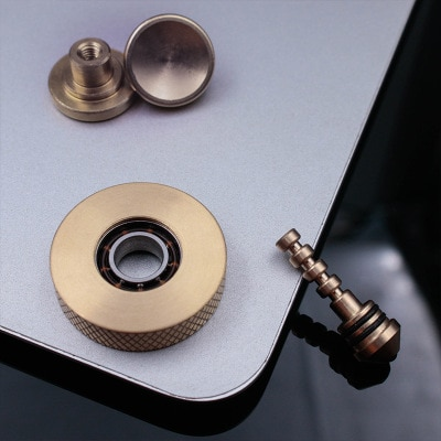 Mini Cyclone Hand Twisted Spinner Dual Play Exquisite Copper Fidget Spinner Creative Leisure Anti Stress Fidget Toys for ADHD enlarge