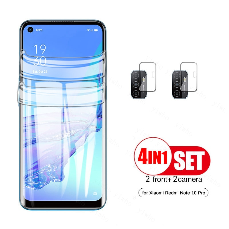 Hydrogel Film for Oppo A53 Camera Lens glass On for Oppo A52 Glass Screen Protector OppoA53 A 53 A53S A 52 Protection Film