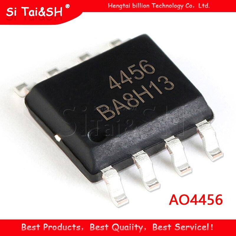 10 pçs/lote AON4456 AO4456 4456 SOP-8 Chipset