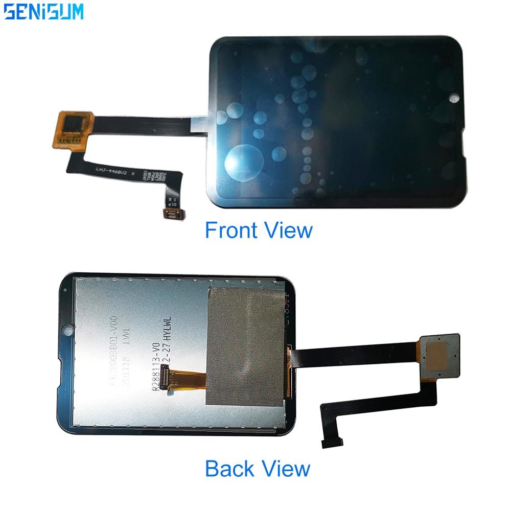 Montagem da Tela de Toque Original para S999 Lcd para Praça Relógio Inteligente Polegada Display Appllp Max Smartver tp 2.88