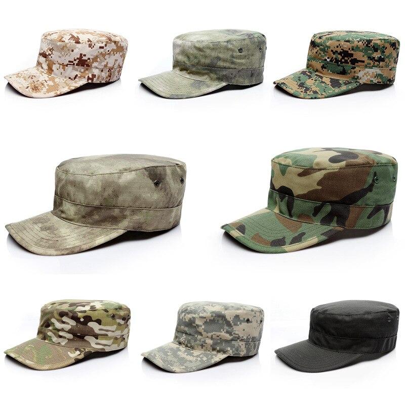 Boné de caça dos homens tarja caps casquette militar do exército tático camuflagem chapéu acampamento esportes adulto caminhadas boné