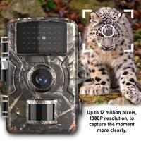 Night Vision Mini 1080P Hunting Camera Waterproof Trail Camera Outdoor Game Wild Camera 2.0 Inches Screen Visor Nocturno Trepied