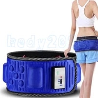 20pcs electric slimming belt lose weight fitness massage x5 times sway vibration abdominal belly muscle waist trainer stimulator