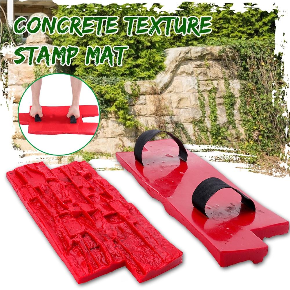 40x20cm Polyurethan Formen Für Beton Garten Haus Decor Textur Wand Etagen Formen Zement Gips Briefmarken Modell Formen