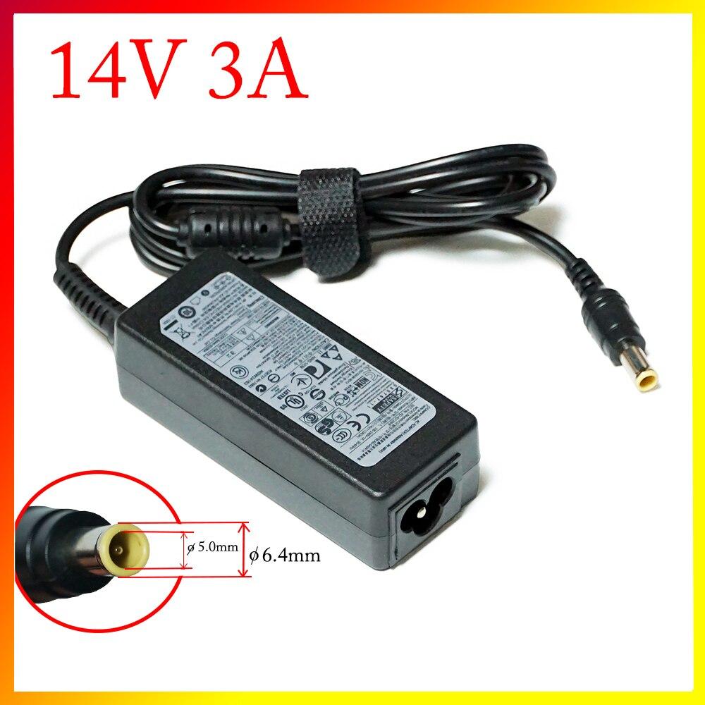 Блок питания 14 В, 3 А, адаптер переменного тока, зарядное устройство для Samsung LCD монитора A2514 _ dpn A3014 AD-3014B B3014NC SA300 SA330 SA350 B3014NC F50