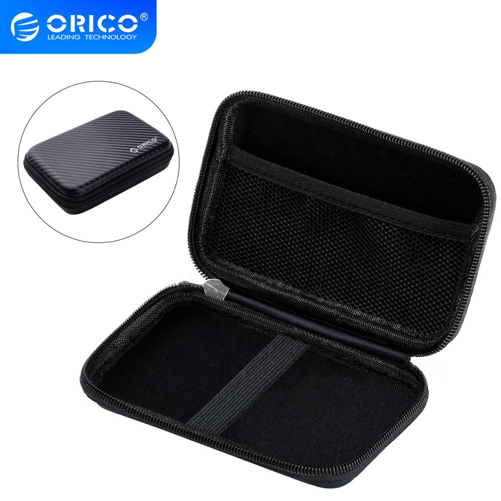 ORICO 2.5 inch Hard Drive Portable HDD Protector Bag External Hard Drive Storage Bag for SSD/Earphone/U Disk HDD Case