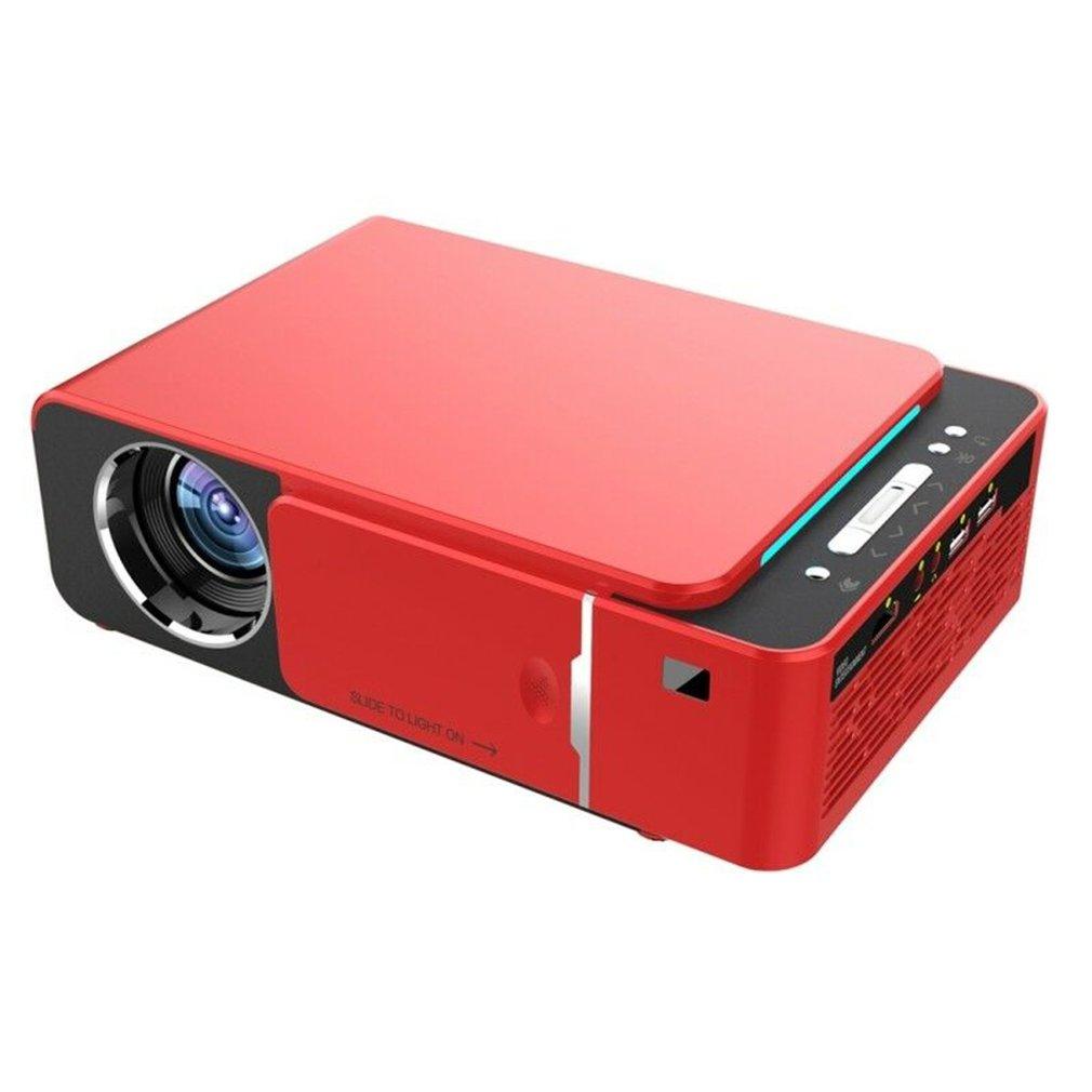 T6-Proyector LED para cine en casa, portátil, con Android 9,0, wi-fi opcional, 3500 lúmenes, 1080p, HD, HDMI, compatible con 4K
