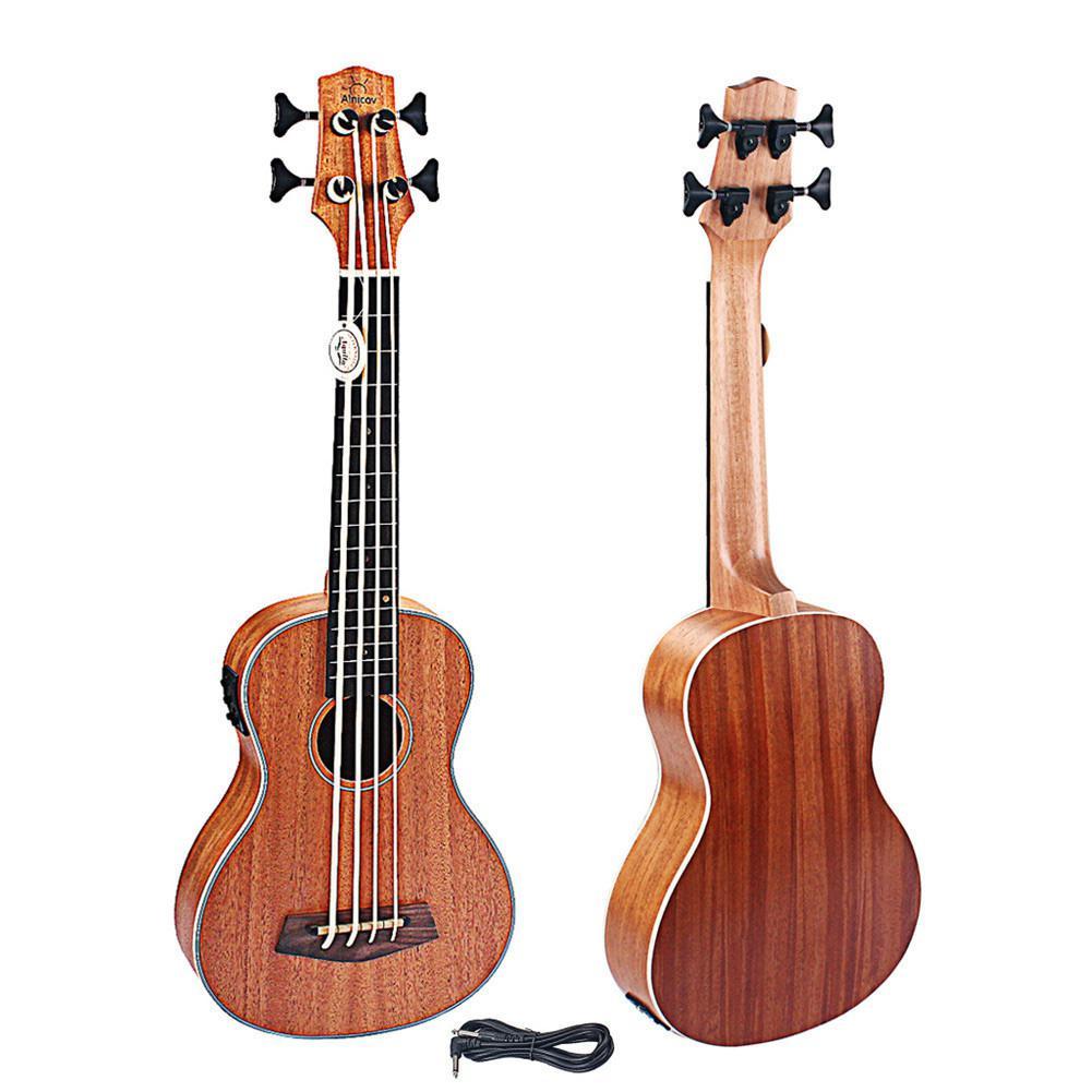 30 Polegada elétrica ukulele 30 Polegada 4 cordas de mogno ukulele rosewood fretboard & ponte guitarra instrumento de música para guitarra música