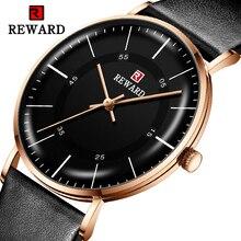 BELONING Luxe Mannen Horloge 6mm Top Ultra-dunne Horloge Mannen Horloge Waterdicht Relogio Masculino Reloj Hombre Mode Mannen horloge Klok