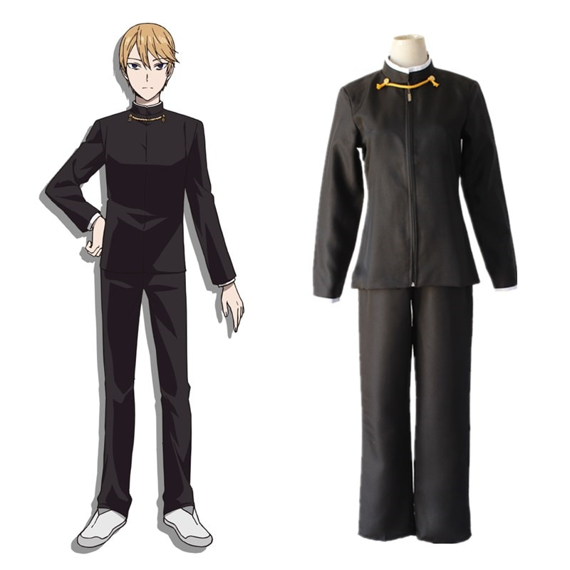 2019 anime Kaguya-sama el amor es la guerra Kaguya Shinomiya. Chica Mujer Vestidos Cosplay traje Shirogane Miyuki hombres uniforme Cosplay