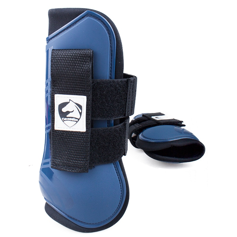 Cavassion Professional Choice Horse Boots for Sports Training Spartan Bell Prevent Overreach Ballistic