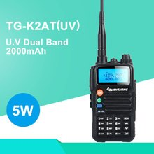 Quansheng TG-K2AT (UV) radio bidirectionnelle FM portable double bande