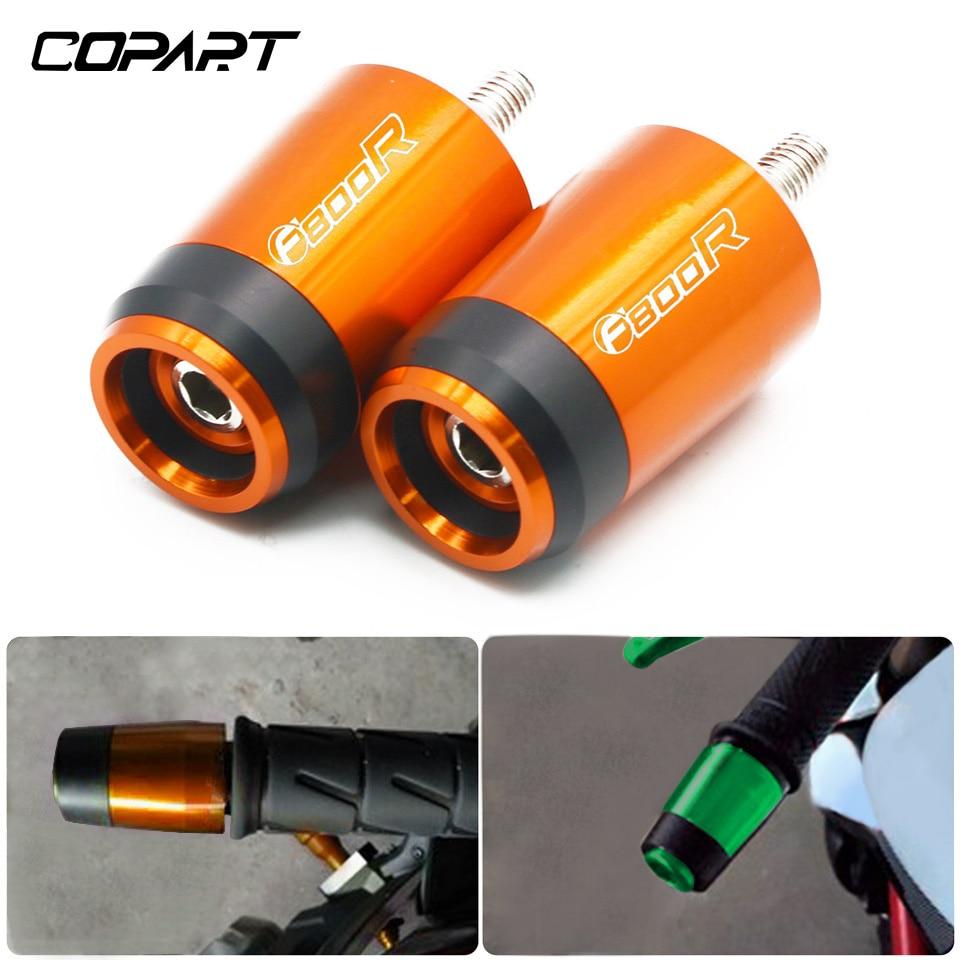 For BMW F800R F 800R F800 R F 800 R Motorcycle Accessories Universal CNC 7/8''22MM Handlebar Grips Handle Bar Grip End Cap Plugs