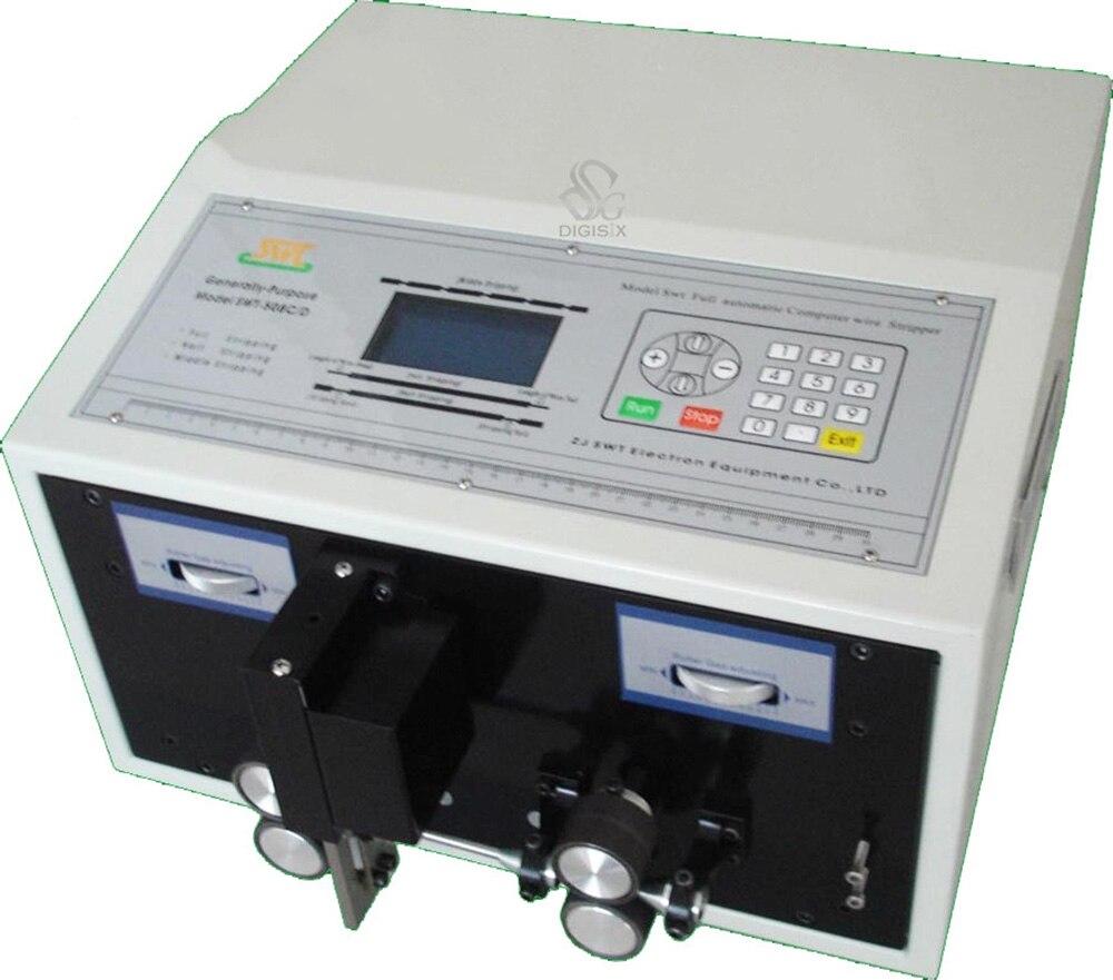SWT508-C الكمبيوتر التلقائي سلك تجريد آلة ، آلة تقشير للأسلاك مع شاشة الكريستال السائل