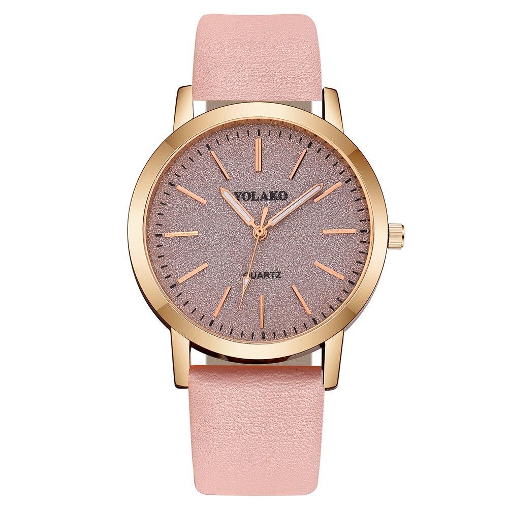 Brand Luxury Ladies Watch Fashion High Quality Leather Strap Elegant Women Quartz Watch Relogio Feminino Relojes Simple Watch enlarge