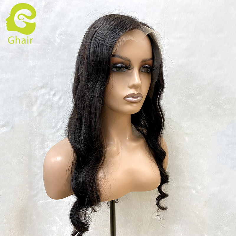 Human Hair Wigs 13X6 HD Lace Frontal Wig with Baby Hair Straight/Body Wave Lace Front Wig 20''-28'' Brazilian Virgin Human Hair