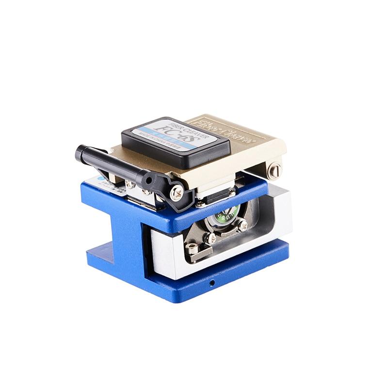 12pcs/set Fiber Optic FTTH Tool Kit  Fiber Cleaver and Optical Power Meter 5km Visual Fault Locator