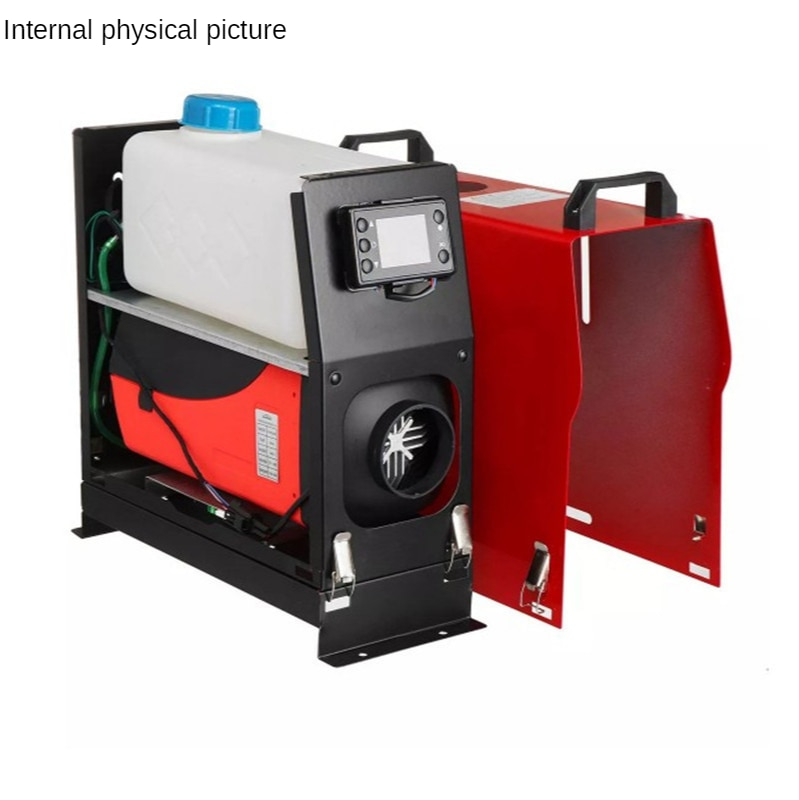 8kw Diesel Air Heater All in One 12V/24V Diesel Parking Heater  Diesel Heater Muffler with Blue LCD Monitor enlarge