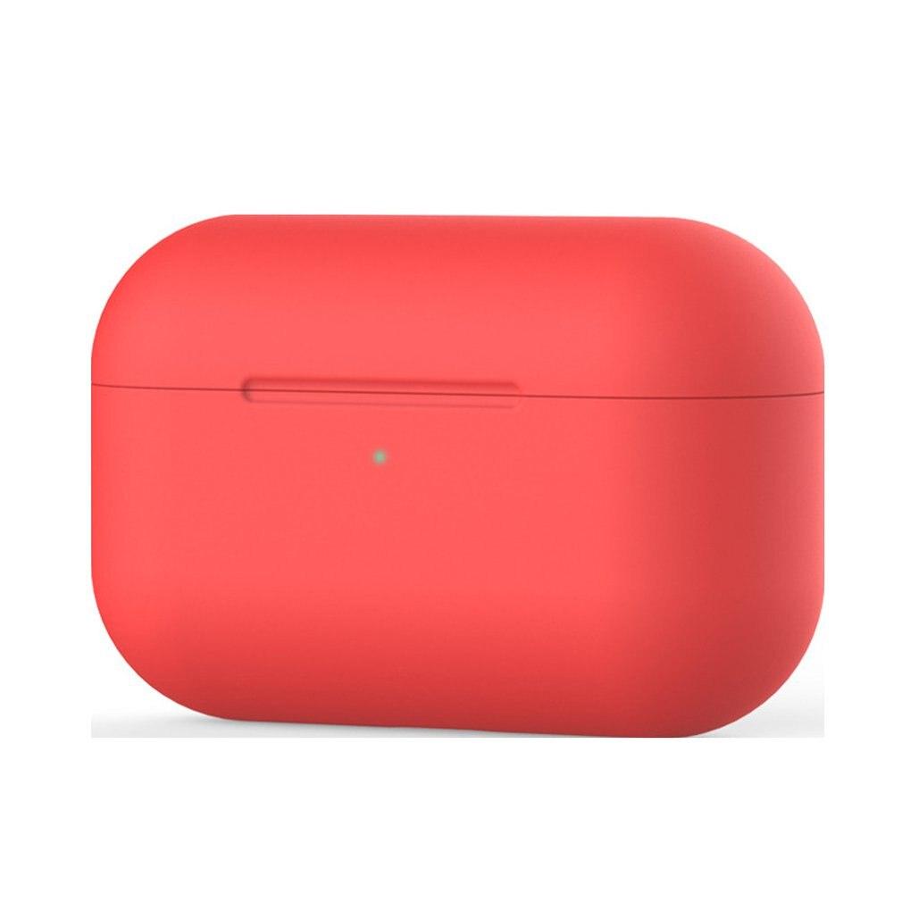 Симпатичный цветной Силиконовый ТПУ чехол для беспроводных наушников Airpods Pro защитный