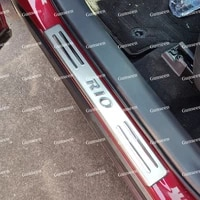 for rio door sill accessories auto scuff plate protector sticker stainless steel car styling pedal 2018 2012 2020 2021 2016 2014