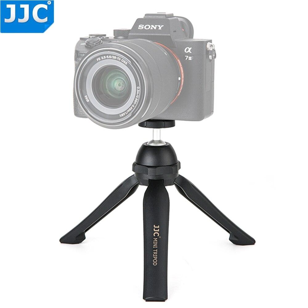 "JJC Mini Tabletop Tripod With 1/4""-20 Socket Hand Grip for DSLR/Mirrorless LED Video Light Portable Phone Camera Vlog Tripod"
