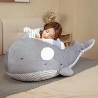 new simulation kawaii whale plush toy blue sea animals stuffed orcinus orca fish doll shark cartoon soft sleep pillow kids gift
