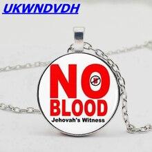 "2019 fashion JW org Tassel ""No blood"" necklace, Christo Kristal Krystal's photo"