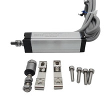 Mini KTM-25MM 10mm 15mm 25mm 50mm 75mm 100mm règle électronique déplacement linéaire capteur LVDT capteur de mesure de déplacement