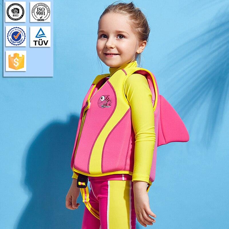 Cartoon life jacket baby children's life vest water sports swimsuit 10-35 kg children's swimming tra