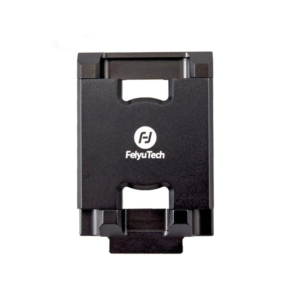 Feiyu Mobile Phone Holder Mount Bracket Clip Adapter for Feiyu  G6 PLUS Action Camera Gimbal Clamp Holder for Phone X RC Parts