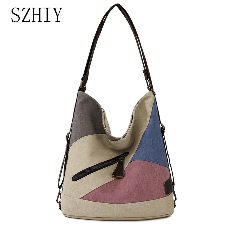 De moda bolsa De lona para las mujeres diseñador Simple De gran...