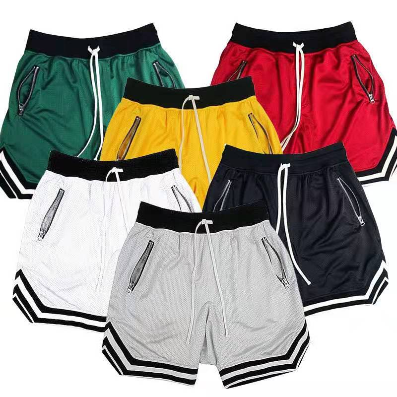 Pantalones cortos deportivos para correr para hombre, Shorts de secado rápido para...