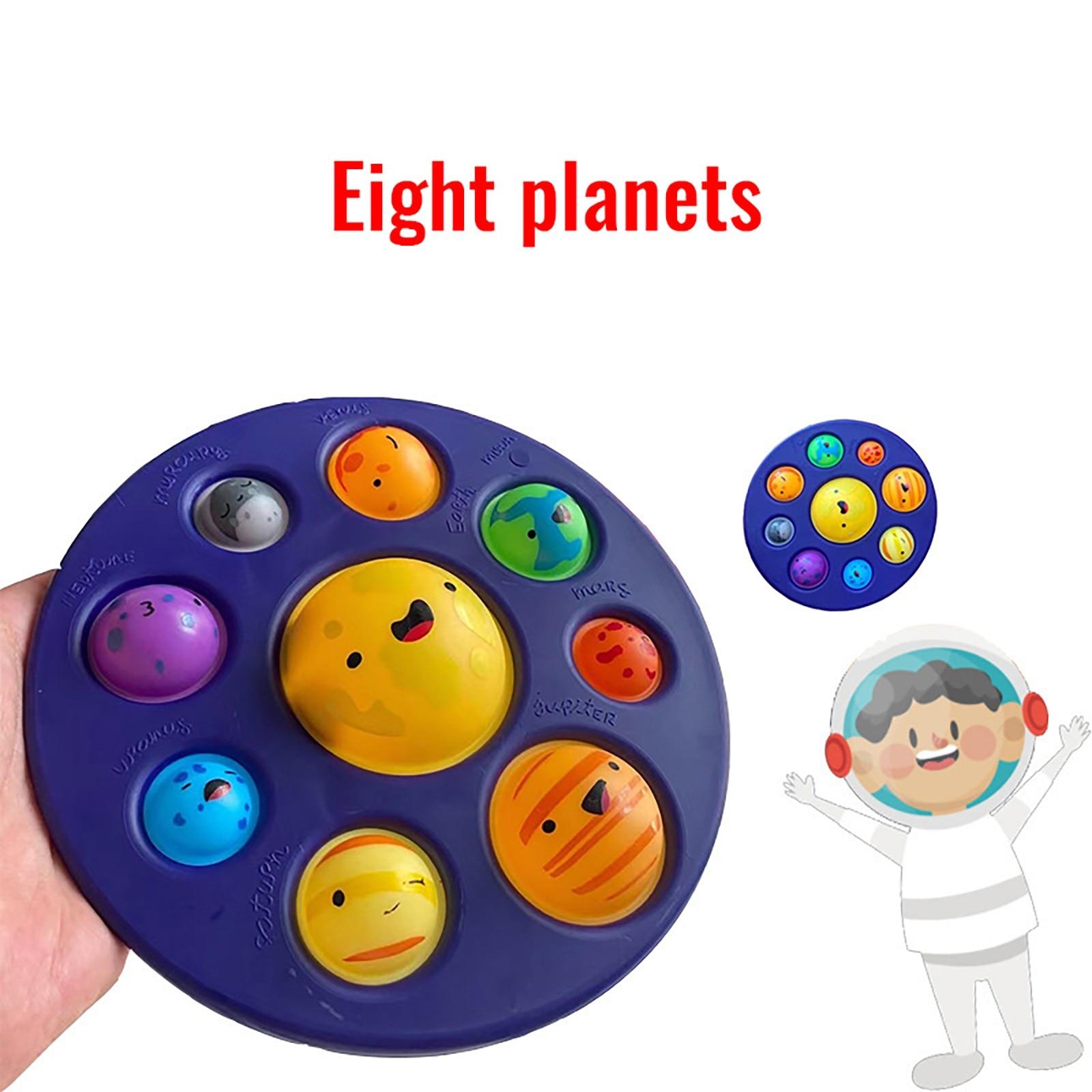 Игрушка-антистресс «звездное небо», 8 планет