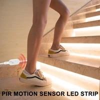 5v led closet light tape wireless motion sensor lamp kitchen cabinet light lamp led strip waterproof usb led lighting ribbon