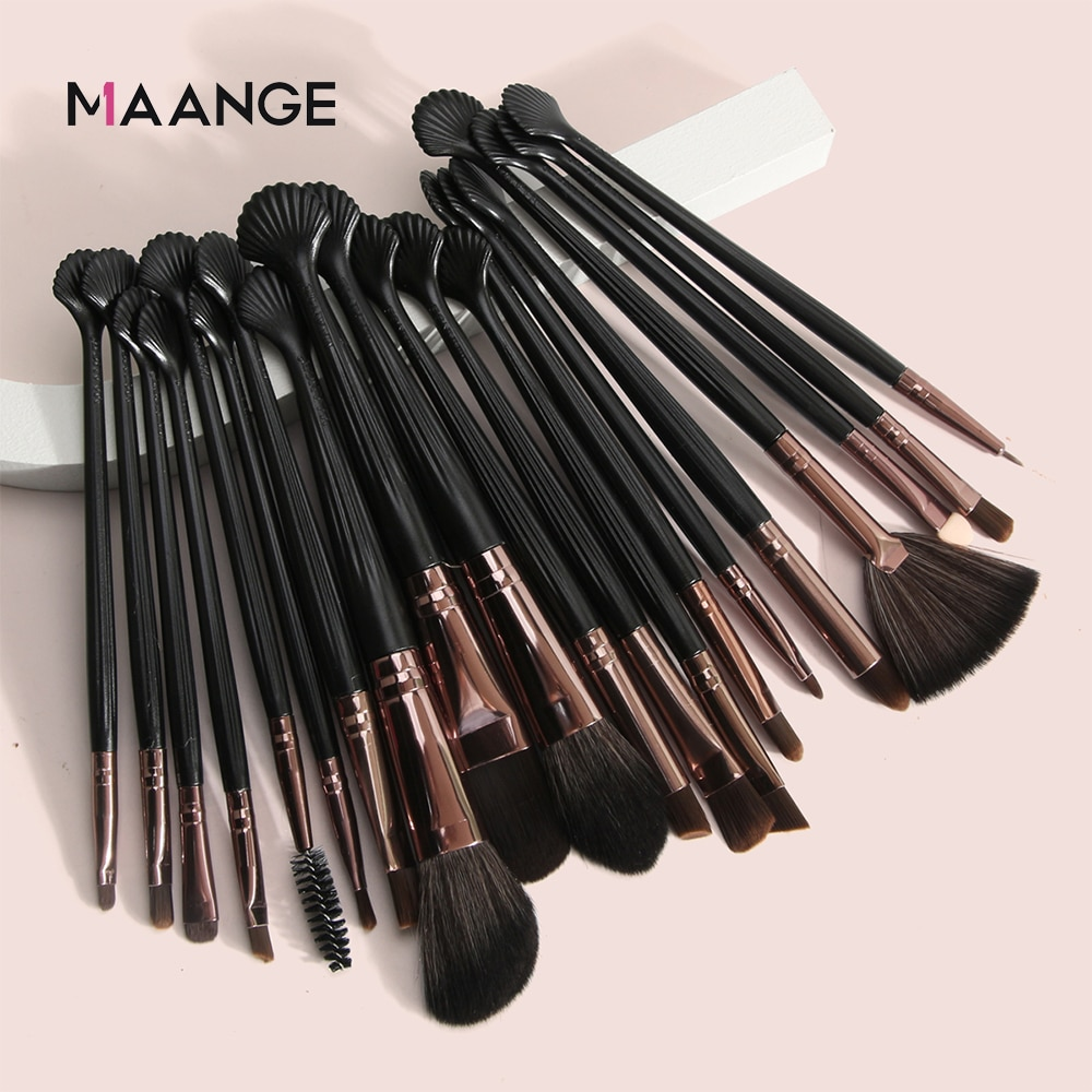 20Pcs Makeup Brushes Set Eye Shadow Foundation Powder Eyeliner Eyelash Lip Make Up Brush Cosmetic Beauty Tools