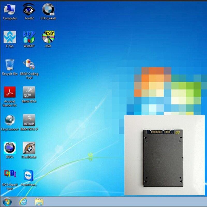 Wins7 de 64bits para bmw icom A2 B C Wifi software siguiente 720GB SSD V06/2020 ISTA D 4,22 ISTA P 3,67 Inpa ETK NCS utilizado para 90% computadoras portátiles