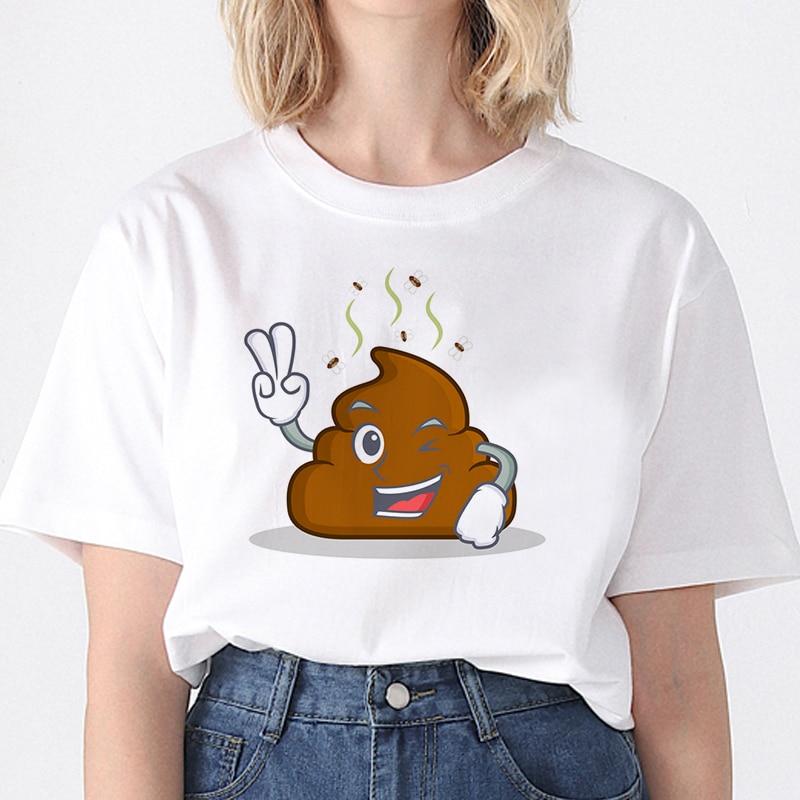 Funny Printed T Shirt Women Harajuku Spoof Personality T Shirt Loose Top Tee Funny Women Short Sleeve T-shirt dortmund herren t shirt 100% do anti ge s bis 3xl schwarz gelb men s funny harajuku t shirt top tee simple