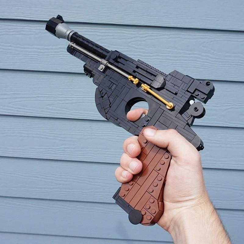 moc-blaster-pistol-building-blocks-assembly-high-tech-gun-bricks-model-war-arms-diy-soldier-game-toy-for-children-birthday-gifts