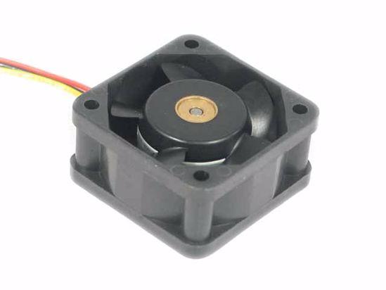 Sanyo Denki 109P0424H6D22 DC 24V 0.07A 40x40x20mm 3-wire Server Cooling Fan
