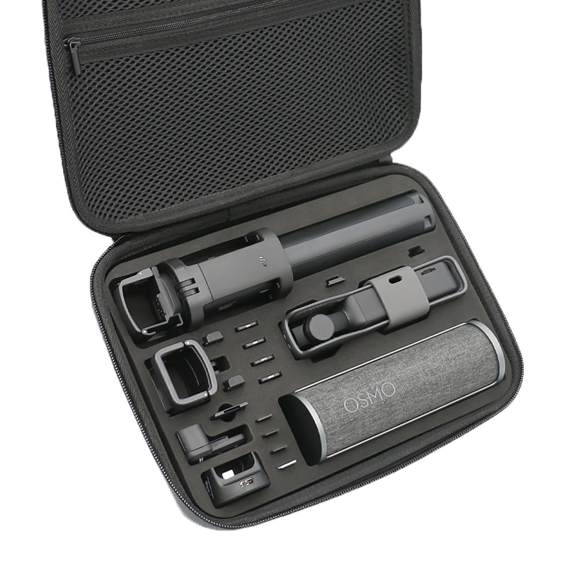 Osmo جيب حقيبة المحمولة حافظة الغيار خزانة قطع صندوق مقاوم للماء ل dji osmo جيب كاميرا الملحقات