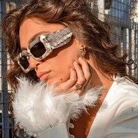 serpentine square big frame rectangle sunglasses women fashion design vintage sun glasses men brand shades gafas de sol mujer