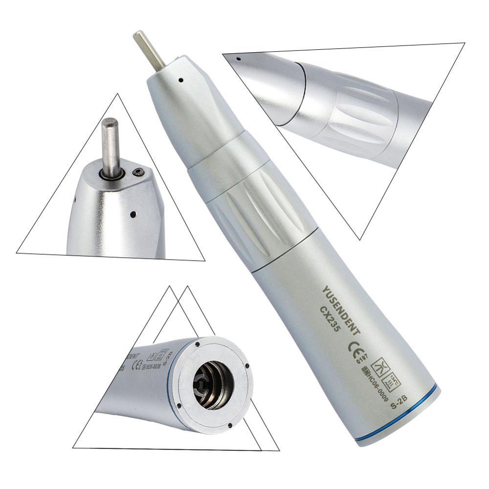 Pieza de mano de turbina de aire COXO Dental de baja velocidad pieza de mano de ángulo recto CX235-2B de pulverización de agua interior YUSENDENT