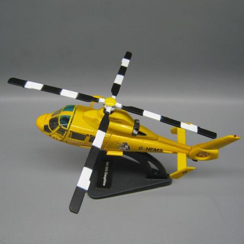 11,5 CM 1/100 escala Italia versión sa365 Z-9 negro halcón delfín ambulancia helicóptero military modelos de avión, juguetes para coleccionar