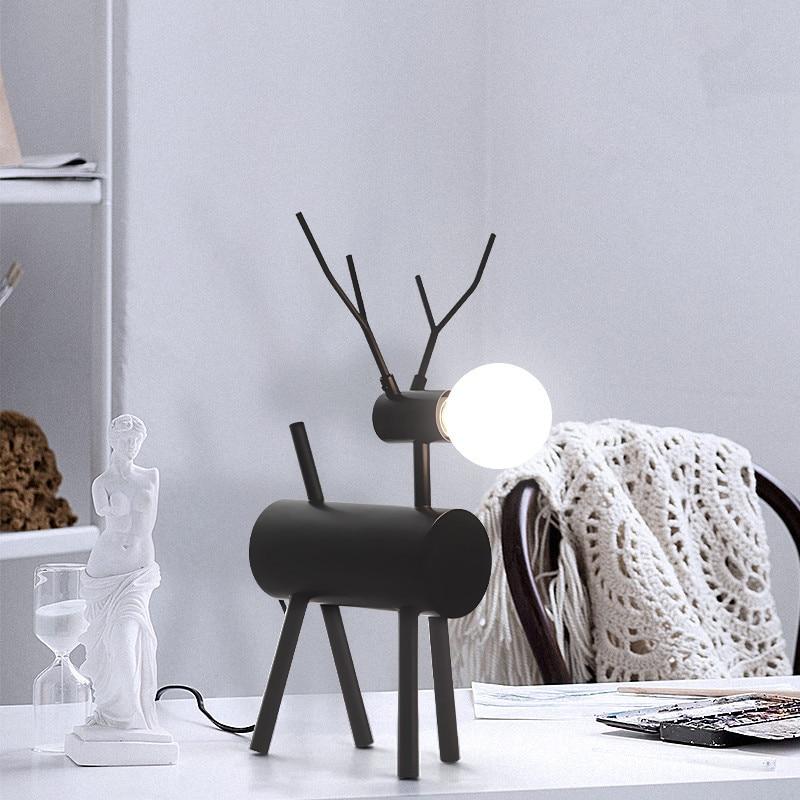 designer criativo cao candeeiro de mesa para o quarto sala estar criancas quarto