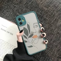 art retro abstract geometry phone case for iphone 12 x xs max xr 11 pro max 7 7 puls 6 6s 7 8 puls se 2020 cute anti fall cover
