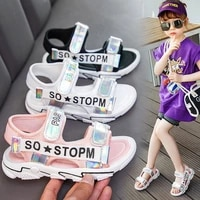 girls sandals childrens soft bottom sneakers large and medium sized childrens princess shoes boys shoes sandal