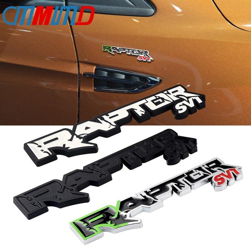 Новая 3D металлическая эмблема RAPTOR SVT, автомобильная наклейка s для Ford F150 2010-2014, автомобильная Эмблема багажника, наклейка для автомобиля, Стайлинг